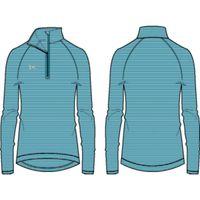 Women's UA Stripe Tech 1/4 Zip - Coastal Teal