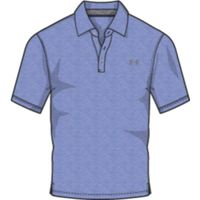 Men's Charged Cotton Scramble Polo - Talc Blue Afs