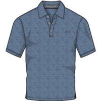 Men's Charged Cotton Scramble Polo - Bass Blue