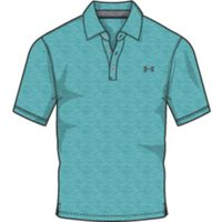 Men's Charged Cotton Scramble Polo - Teal Punch