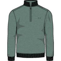 UA Storm SweaterFleece QZ - Aegean Green