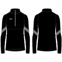 W's Pitch 1/4 Zip - Black