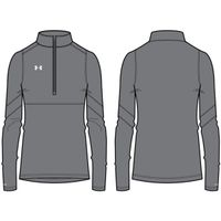 W's Pitch 1/4 Zip - Graphite