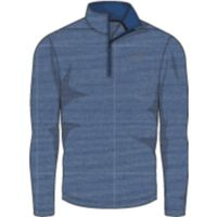UA THREADBORNE 1/4 ZIP - Moroccan Blue Afs