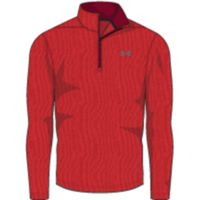 UA THREADBORNE 1/4 ZIP - Pierce Full Heather