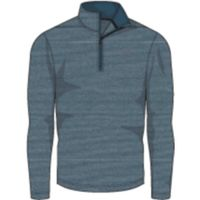 UA THREADBORNE 1/4 ZIP - Tourmaline Teal Afs