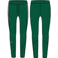 W's UA Squad Woven Pant - Forest Green