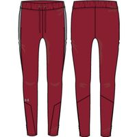 W's UA Squad Woven Pant - Cardinal