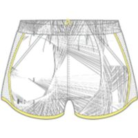 Fly By Printed Short - White