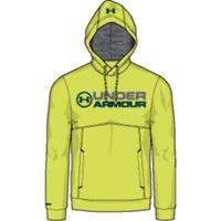 ARMOURFLEECE WORDMARK HOODY - Smash Yellow