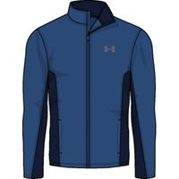Tricot Lined Warm Up Jacket - Moroccan Blue Afs