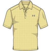 Playoff Vented Woven Polo - Yellow Soul