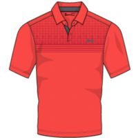 UA CoolSwitch Launch Polo - Neon Coral