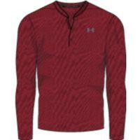 Threadborne LS Henley - Red