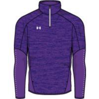 Men's UA Knit Warm-Up ¼ Zip - PUR