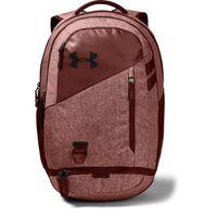 UA Hustle 4.0 Backpack - Cinna Red Medium Heather