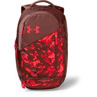 UA Hustle 4.0 Backpack - Cinna Red