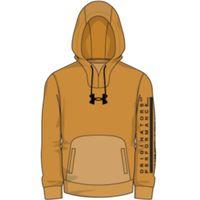 Men's UA Summit Knit Hoodie - Golden Yellow