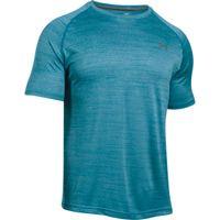 Men's UA Tech Short Sleeve TShirt - Bayou Blue