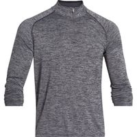 Men's UA Tech  Zip - Black