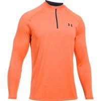 Men's UA Tech  Zip - Magma Orange