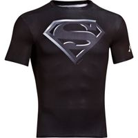 Men's Under Armour Alter Ego Short Sleeve Compression Shirt - Black