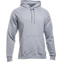 UA Team Rival Fleece Hoody Formerly ETA - True Gray Heather