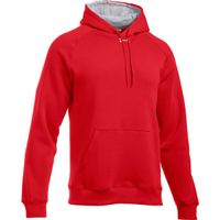 UA Team Rival Fleece Hoody Formerly ETA - Red