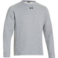 Men's UA Rival Fleece Team Crew - True Gray Heather
