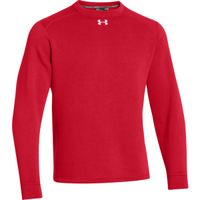 Men's UA Rival Fleece Team Crew - Red