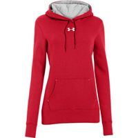 Women's UA Team Rival Fleece Hoodie - Red