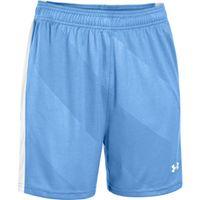 Women's UA Fixture Soccer Shorts - Carolina Blue