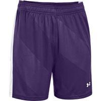 Women's UA Fixture Soccer Shorts - Purple