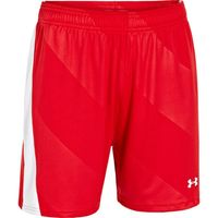 Women's UA Fixture Soccer Shorts - Red