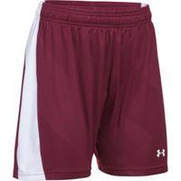 Women's UA Fixture Soccer Shorts - Maroon