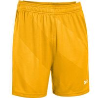 Women's UA Fixture Soccer Shorts - Steeltown Gold