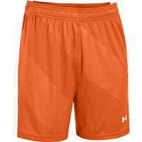 Women's UA Fixture Soccer Shorts - Orange Afs