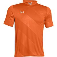 Men's UA Fixture Soccer Jersey - Orange Afs