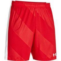 Men's UA Fixture Soccer Shorts - Red