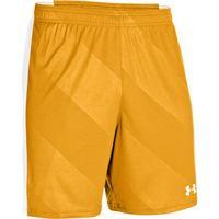 Men's UA Fixture Soccer Shorts - Steeltown Gold