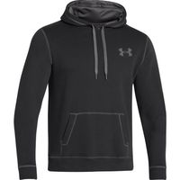 Men's UA Rival Fleece Hoodie - Black