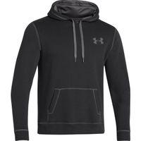 Men's UA Rival Fleece Hoodie - Black