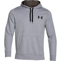 Men's UA Rival Fleece Hoodie - True Gray Heather