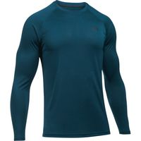 Men's UA Tech Patterned Long Sleeve TShirt - True Ink