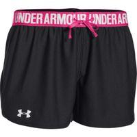 Women's UA Play Up Shorts - Black