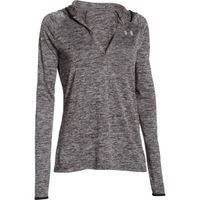 Women's UA Tech Twist Long Sleeve Hoodie - Black