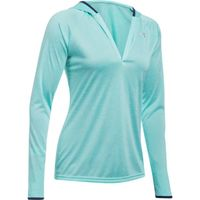 Women's UA Tech Twist Long Sleeve Hoodie - Blue Infinity