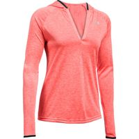 Women's UA Tech Twist Long Sleeve Hoodie - Marathon Red