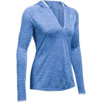 Women's UA Tech Twist Long Sleeve Hoodie - Lapis Blue