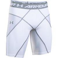 Men's UA HeatGear Armour Compression Coreshorts - White
